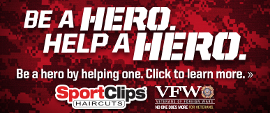 Sport Clips Haircuts of Mason​ Help a Hero Campaign
